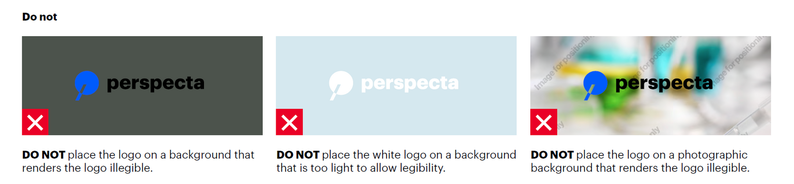 Logo guidelines | Perspecta